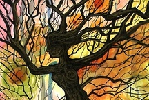 tree of life / i would rather live in a forest / by Roxann Arden