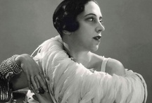 Schiaparelli / Elsa Schiaparelli (1890–1973) was an Italian fashion designer. Along with Coco Chanel, her greatest rival, she is regarded as one of the most prominent figures in fashion between the two World Wars.[1] Starting with knitwear, Schiaparelli's designs were heavily influenced by Surrealists like her collaborators Salvador Dalí and Alberto Giacometti. Her clients included the heiress Daisy Fellowes and actress Mae West. / by Chlo Chlo