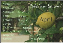 What's in Season?  April