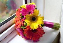 Wedding::: flowers / Simplicity, colourfulness