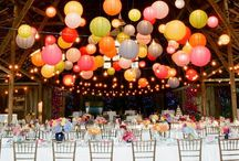 Wedding::: theme and decor / I heart rainbow!