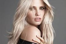 Bright Blonde / Brighten up with honey highlights or go for allover platinum—and find your most enlightened color ever.