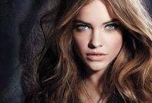 Brunette Beauties / Dark, darker, darkest. The full range of brunette shades for hair coloring inspiration.