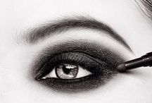 Inspired Eyes / All the eyeshadow, eyeliner and mascara to lock them in your gaze. These are the colors for can't-look-away.