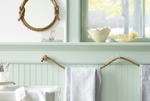 Boys bath / Tons of nautical and DIY bathroom upgrade ideas / by Michelle Barneck {A Little Tipsy}