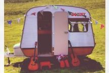 My 76 Sprite caravan & other cool camping ideas / Nothing is more British than a camping or caravan holiday