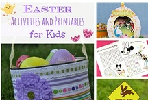 Easter Fun and Activities for Kids / Easter crafts, activities, and printables for celebrating Easter with kids!