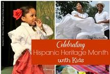 Celebrating Latino Culture for Hispanic Heritage Month / Activities, resources, recipes, and more celebrating the beauty of Latino culture for Hispanic Heritage Month! / by Melanie Edwards/modernmami