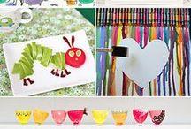 toddler crafts + activities