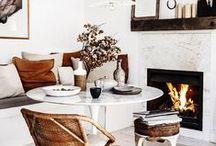 MSP | DINING / Scandinavian, Minimal, Rustic-Modern | DINING | KITCHEN | LIVING SPACE | BLACK AND WHITE