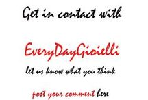 Contact #EveryDayGioielli here / If you want to contact me or leave a comment please do so here