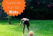 Summer Fun & Learning for Kids! / Keep summer fun and educational too! Don't let the summer slide happen. With these ideas, kids can stay busy and learning during the summer!