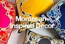 Moroccan-Inspired Decor / Bring exotic North African accents into your home to create a vibrant space. / by Overstock