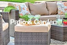 Patio + Garden / You can create your perfect outdoor retreat with the right garden and patio products. Here's some inspiration to help you do it. / by Overstock
