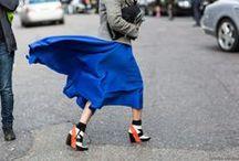 Fashion / Inspiração de moda off-catwalk.