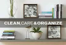Clean, Care & Organize by Kane's / Tips, tricks and furniture care recommendations. / by Kane's Furniture