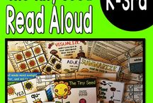 Read Alouds ELA Week Long Activities with Lesson Plans / Teacher Read Alouds with week long lesson plans, activities, Phonics, and Crafts for K-3rd grade students with differentiated activities to meet each grade level . #readalouds #readaloud #picturebooks #closereads #fictionreadalouds #nonfictionreadalouds #oink4pigtales #tpt
