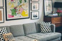 Decor Inspiration / Ideias de decoração que fazem da casa um lar.