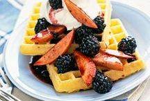 Breakfast & Brunch / Pancakes, waffles, quiche, muffins and more breakfast and brunch recipes.