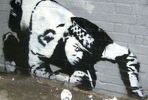 Banksy / King of graffiti (and other street art)  / by Marjolein Peters