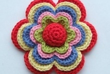 Crochet- Flowers / by Deana Irvine