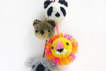 Pom pom, felt, wool and paper little things / by Sch