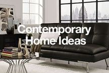 Contemporary Home Ideas / Today's homes reflect an easy-going lifestyle, where your family can get together and enjoy the good things in life. Find contemporary decor inspiration here. / by Overstock
