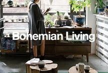 Bohemian Living / Exotic, eclectic, and earthy: Bring together bold colors, patterns, and accessories to create a boho living space that shows off your romantic, offbeat spirit. / by Overstock