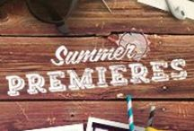 Summer fonts / by Cara Talty