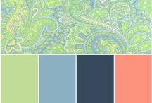 ~Color Palettes~ / by Jeni Williamson