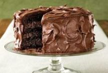 Sweets to the Sweet / Brownies, mints, cakes, pies, scones, truffles, ice cream, pudding, frosting, danishes...