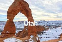 Utah / Home to Overstock's headquarters, here is a little glimpse of Utah's never ending beauty.  / by Overstock