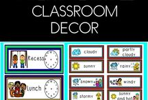 Classroom Ideas and Decorations / Classroom Ideas, Resources, and Products for Elementary Teachers