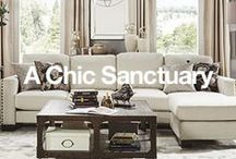 A Chic Sanctuary / Turn your home into a pretty paradise with the help of these charming updates. / by Overstock