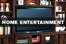 Home Entertainment / Trade in your night on the town for a fun-filled family night with comfy reclining sofas and stylish entertainment centers.  / by Kane's Furniture