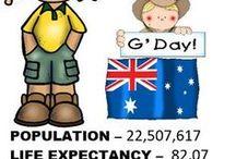 AUSTRALIA / Resources, Ideas, and Activities for teaching about Australia. #australia #educationalideas