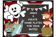 Pirate Theme Resources / This Pinterest Board contains Lessons, decorations, classroom decor, lessons, activities, and more to match your pirate theme classrooms. #classroompiratedecor #piratedecor #piratesfortheclassroom