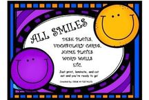 Smiley Face Classroom Theme / Smiley Face ideas, decorations, etc for your room.
