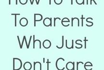 Parents Teacher Communication / This Pinterest Board offers tips, ideas, and strategies to help you talk with parents about difficult topics