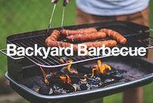 Backyard Barbecue / Nothing says summer like a backyard barbecue. Gather round the grill and make a delicious meal to share with friends. The party will keep going long after the food is gone. / by Overstock