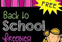 BACK TO SCHOOL FREEBIES / FREEBIES for back to school. Please repin products from other sellers for every pin you post to this board. This helps ALL of us!! If you post 5 of your own pins, then repost 5 pins from ANY TpT seller. Thank you!