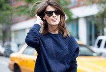 Girl Crush / Fashionistas que a gente ama com um estilo incrível.