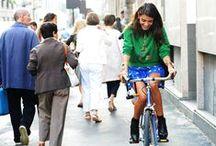 Ride a Bike! / Looks para pedalar com estilo.