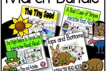 March Ideas for PreK-3rd Grade Classrooms / This Pinterest Board is full of resources, lessons, task cards, technology, books, ideas, March classroom decor, activities, and more to help you teach and come up with fun and exciting spring lessons. #marchreadalouds #marchclassroomideas #saintpatricksdayclassroomactivities #classroomlessonsformarch #springtimeclassroomideas #marchbulletinboards