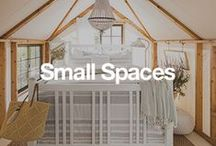 Small Spaces / Anyone who lives in a small space knows how hard it can be to fit furniture into an area that seemingly has no extra room. However, over the past few years, finding furniture for a small space has become much easier. Let us help you find the furniture, decor, and small space living essentials to transform your home. / by Overstock