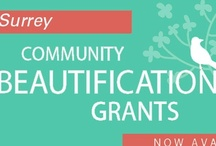 Beautification Grant Projects / Surrey residents or groups can apply for a city beautification grant to plan, organize & carry out small projects or activities & celebration to improve their community. http://www.surrey.ca/city-services/555.aspx / by City of Surrey BC