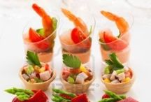 Appeteasers  / Appetizers | Tapas | Finger Food | Crostini |Hors d'oeuvres | Mini Food | Food Tasting  / by Seaside Simplicity