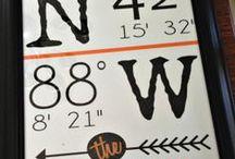 Jen Barrett Designs / Custom word typography and wall decor.  www.jenbarrettdesigns.etsy.com / by Jen Barrett Designs