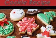 Christmas Cookie Tray Recipes