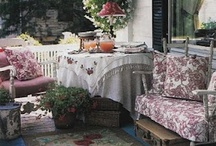 ROOM - Outdoor Spaces / #porch #pool #patio #pergola / by Jennifer Moore